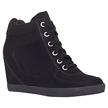 Buy Carvela Lady Trainers, Black Online at johnlewis.com