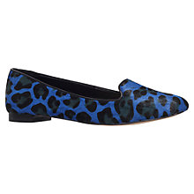 Buy Carvela Leopard Pumps, Pony Blue Online at johnlewis.com
