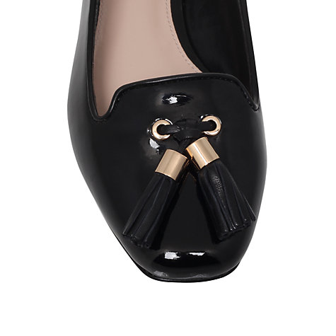 Buy Carvela Lint Ballerinas, Black Online at johnlewis.com