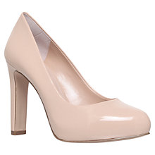 Buy Carvela Aware Leather Court Shoes, Nude Online at johnlewis.com