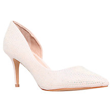 Buy Carvela Gin Court Shoes, Nude Online at johnlewis.com