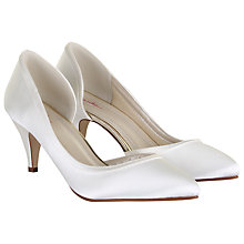 Buy Rainbow Club Abbie Slip-On Court Shoes, Ivory Online at johnlewis.com
