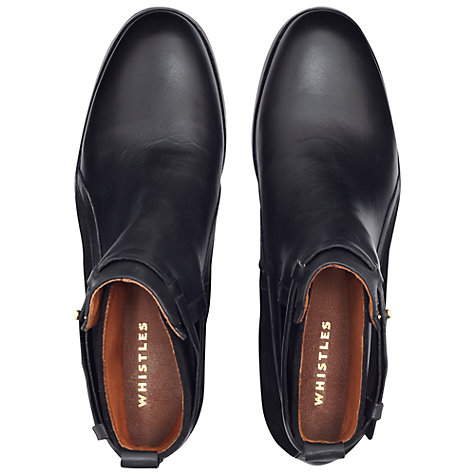Buy Whistles Lauren Jodhpur Boots, Black Online at johnlewis.com