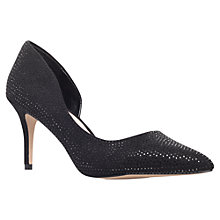 Buy Carvela Gin Court Shoes, Black Online at johnlewis.com