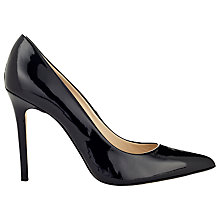 Buy Whistles French 65 Patent Leather Pumps, Black Online at johnlewis.com
