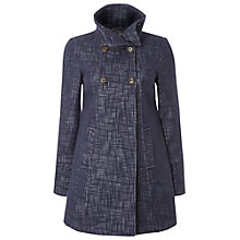 Buy White Stuff Lobster Pot Coat, Dark Atlantic Blue Online at johnlewis.com