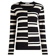 Buy Windsmoor Striped Jumper, Neutral Online at johnlewis.com