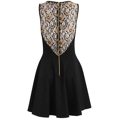 Buy Closet Lace Top Dress, Gold Online at johnlewis.com