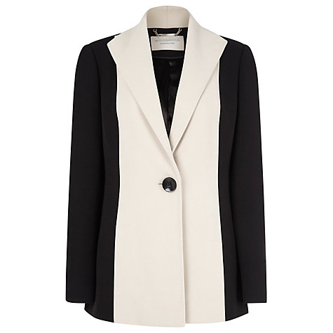Buy Windsmoor Colour Block Jacket, Black Online at johnlewis.com