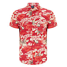 Buy Woolrich John Rich & Bros. Hawaiian Print Shirt, Hawaiian Cherry Online at johnlewis.com