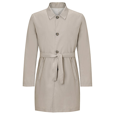 Buy Pret Pour Partir George Son Classic Trench, Ecru/Beige Online at johnlewis.com