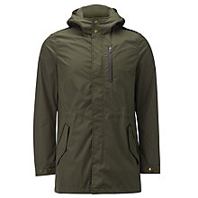 Buy Woolrich John Rich & Bros. Military Parka Coat, Waxed Green Online at johnlewis.com
