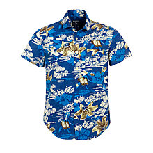 Buy Woolrich John Rich & Bros. Hawaiian Print Shirt Online at johnlewis.com