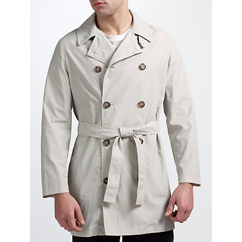 Buy Pret Pour Partir Gary Classic Trench Coat, Mastic Online at johnlewis.com