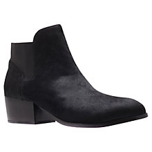 Buy KG by Kurt Geiger Scout Leather Ankle Boots Online at johnlewis.com
