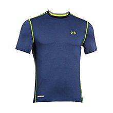 Buy Under Armour Heat Gear Sonic Short Sleeve Top Online at johnlewis.com