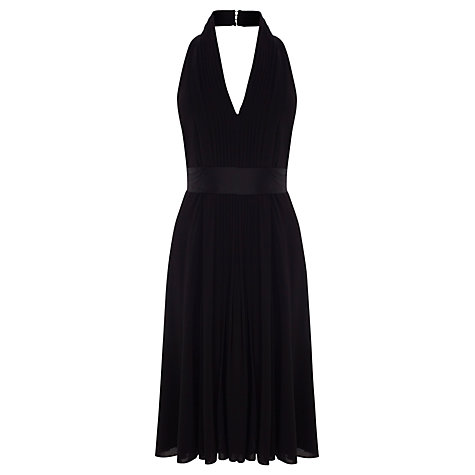 Buy Coast Goddess Short Dress, Black Online at johnlewis.com