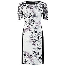 Buy Kaliko Lily Printed Panel Shift Dress, Multi Online at johnlewis.com