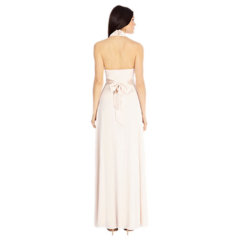 Buy Coast Goddess Maxi Dress, Blush Online at johnlewis.com