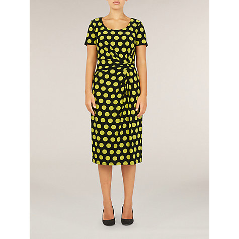 Buy Precis Petite Fennel Spot Dress, Multi Online at johnlewis.com