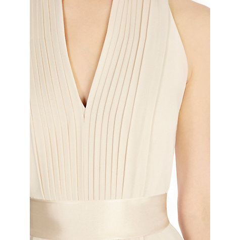 Buy Coast Goddess Short Dress, Champagne Online at johnlewis.com
