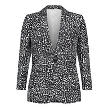 Buy Hobbs Elina Jacket, Black/Ivory Online at johnlewis.com