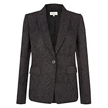 Buy Hobbs Bea Jacket, Black/Grey Online at johnlewis.com