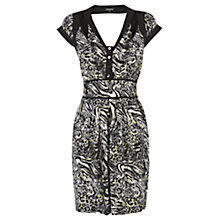 Buy Warehouse Animal Cut Out Dress, Multi Online at johnlewis.com