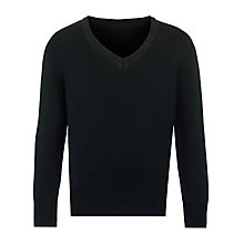 Buy John Lewis 2014 Unisex School V-Neck Jumper Online at johnlewis.com