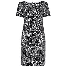 Buy Hobbs Invitation Elina Dress, Black/Ivory Online at johnlewis.com
