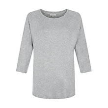 Buy Hobbs Issa Top, Grey Melange Online at johnlewis.com