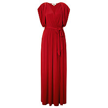 Buy Somerset by Alice Temperley Jersey Grecian Dress, Red Online at johnlewis.com