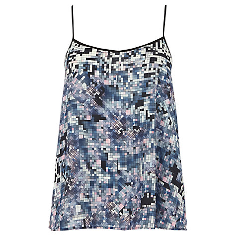 Buy Warehouse Pixel Print Camisole Top, Multi Online at johnlewis.com