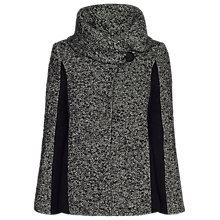 Buy James Lakeland Cape Coat, Grey/Black Online at johnlewis.com