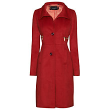 Buy James Lakeland Structured Button Zip Coat Online at johnlewis.com