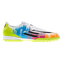 Buy Adidas Men's F10 TRX Astro Turf Trainers, Multi Online at johnlewis.com