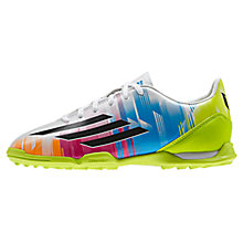 Buy Adidas Junior F10 Astro Turf Trainers, Multi Online at johnlewis.com