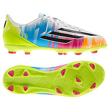 Buy Adidas Junior F10 TRX FG Football Boots, Multi Online at johnlewis.com