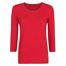 Buy Mango Essential Jumper, Bright Red Online at johnlewis.com