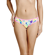 Buy Bonds Microfibre Bikini Briefs, Neo Bloom Online at johnlewis.com