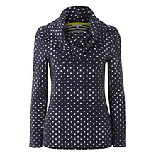 Buy White Stuff Noma Spot Cowl Top, Navy Online at johnlewis.com