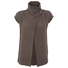 Buy White Stuff Mill Timber Cardigan, Dark Limestone Online at johnlewis.com