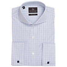Buy Chester Barrie Savile Row Richard Graph Check Long Sleeve Shirt, Blue Online at johnlewis.com
