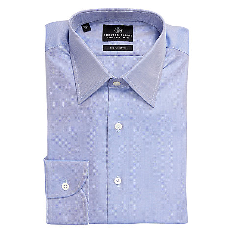 Buy Chester Barrie Savile Row Peter Oxford Long Sleeve Shirt Online at johnlewis.com