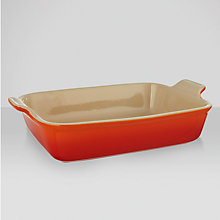 Buy Le Creuset Deep Rectangular Dish Online at johnlewis.com