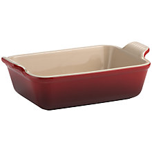 Buy Le Creuset Stoneware Deep Rectangular Dish Online at johnlewis.com