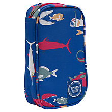 Buy Little Joule Fish Print Console Case, Blue Online at johnlewis.com