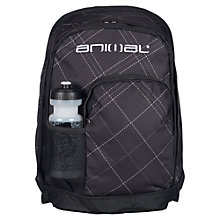 Buy Animal Backpack with Bottle Holder, Black Online at johnlewis.com