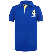 Buy Hackett London Boys' Boat Race Polo Shirt, Blue Online at johnlewis.com