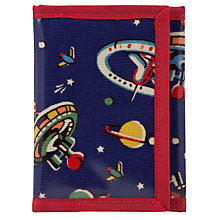 Buy Cath Kidston Space Print Wallet, Navy Online at johnlewis.com